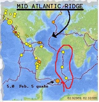 Seismic Activity Mid Atlantic Ridge Flying Cuttlefish Picayune