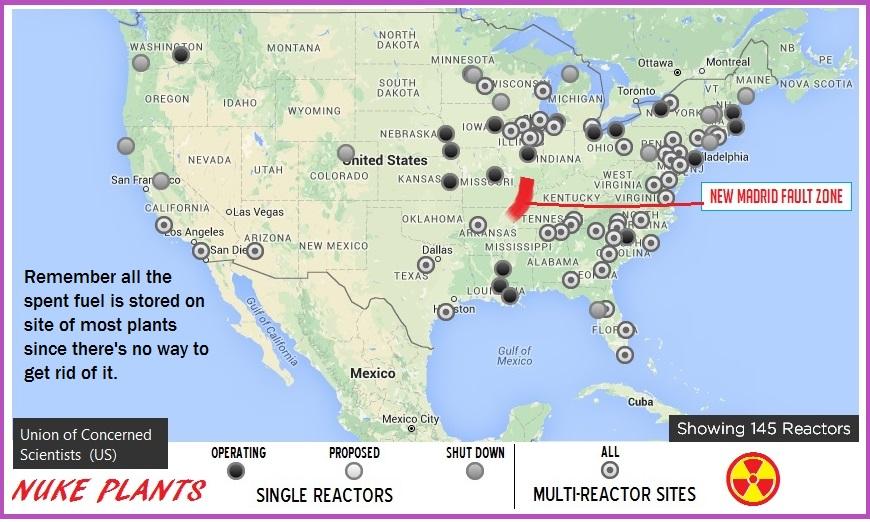 Idiots At DHS And FEMA Think Power Loss Destruction At Nuke - Nuke map us