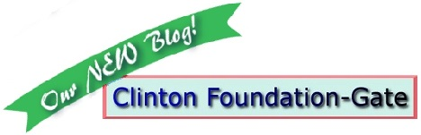 our new blog, Clinton Foundation Gate
