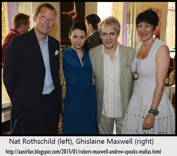 Image result for ghislaine maxwell and nat rothschild